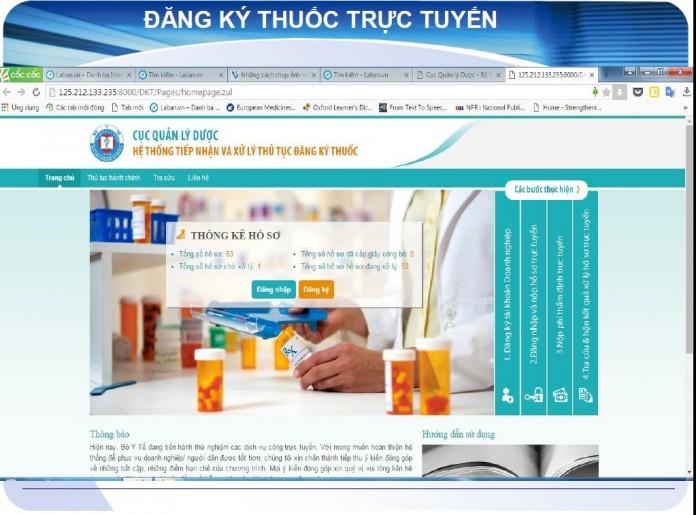Dự thảo 6 thông tư đăng ký thuốc