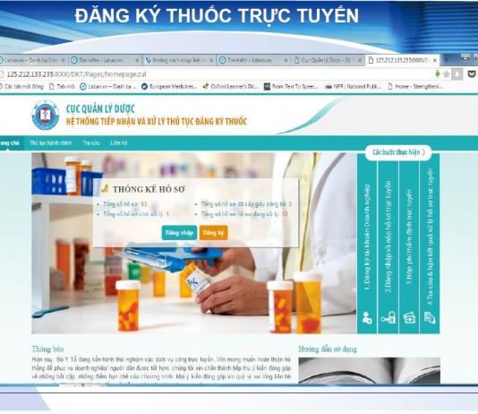 New Checklist for drug registration in Vietnam