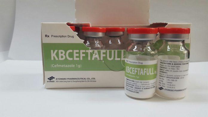 Công văn 15160/QLD-ĐK ngừng sản xuất, không cung cấp thuốcKbceftafull Inj