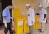 quản lý chất thải cho cán bộ quan trắc