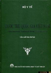 DƯỢC THƯ QUỐC GIA VIỆT NAM 2015 - Vietnam Regulatory Affairs Society